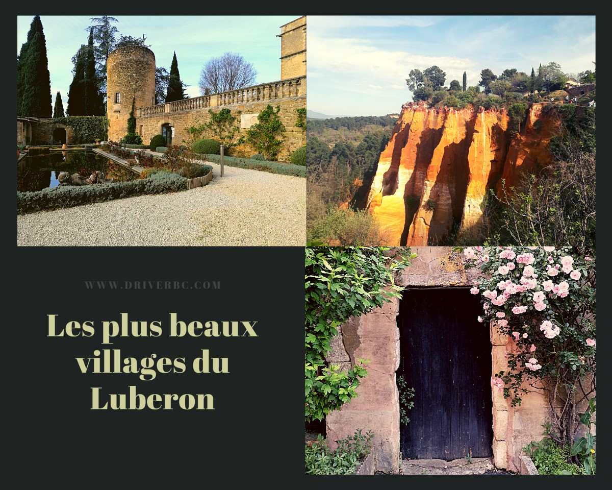 Our top 5 villages in Provence Luberon area !