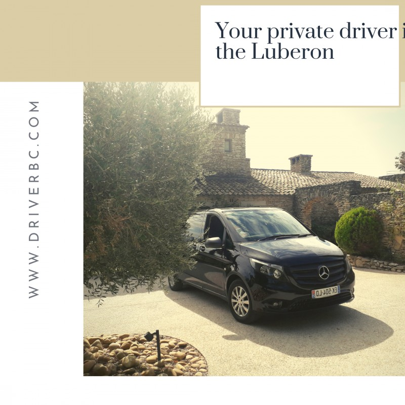 Your private driver in the Luberon