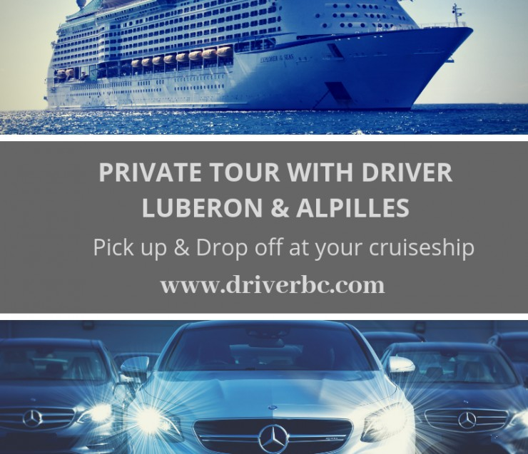 Private tours from your cruise Marseille Avignon