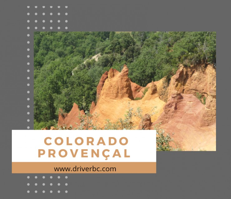 Discover the Colorado of Rustrel !