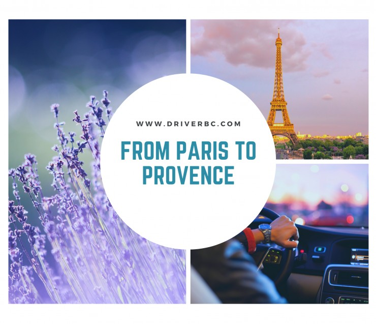 From Paris to Provence