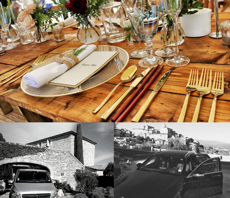 Book a driver to go the restaurant in Provence