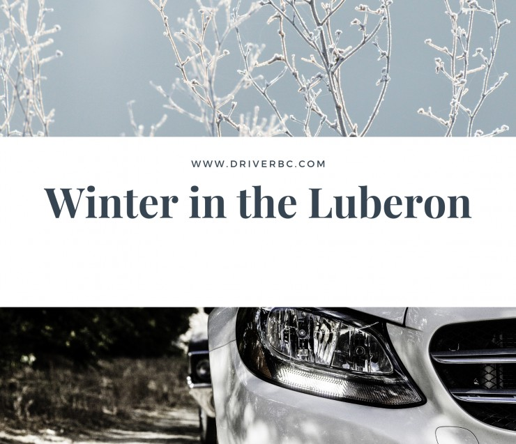 Winter in the Luberon area