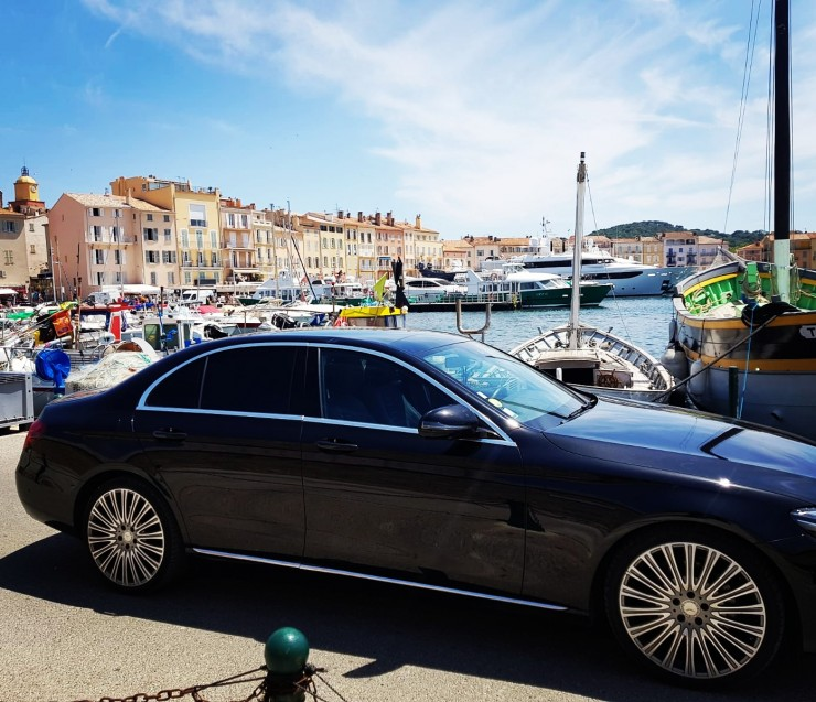 Private transfer to the French Riviera