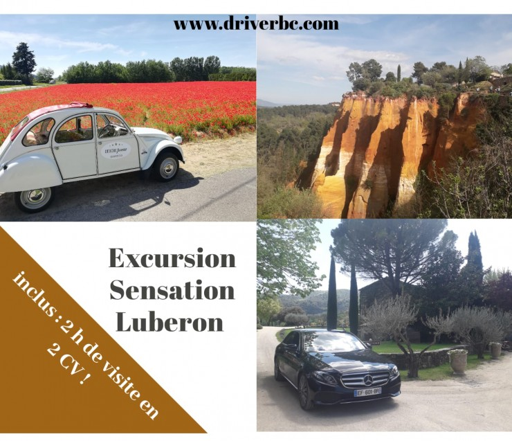 Full day Experience the Luberon with vintage car